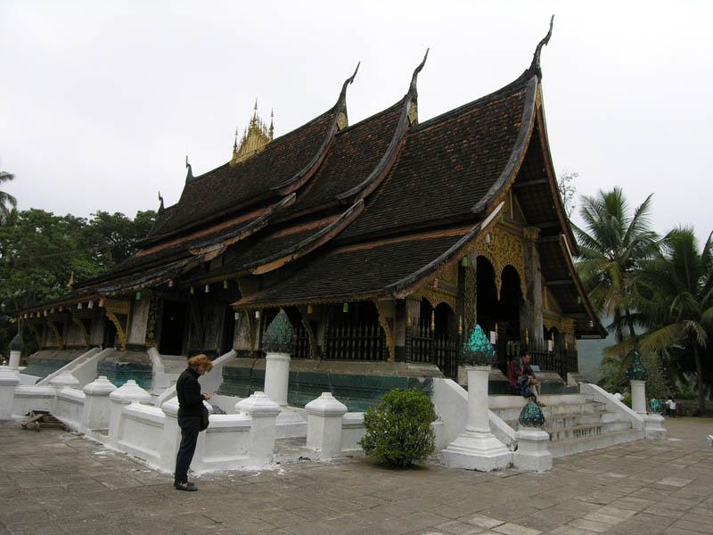Rumah Gadang di Laos