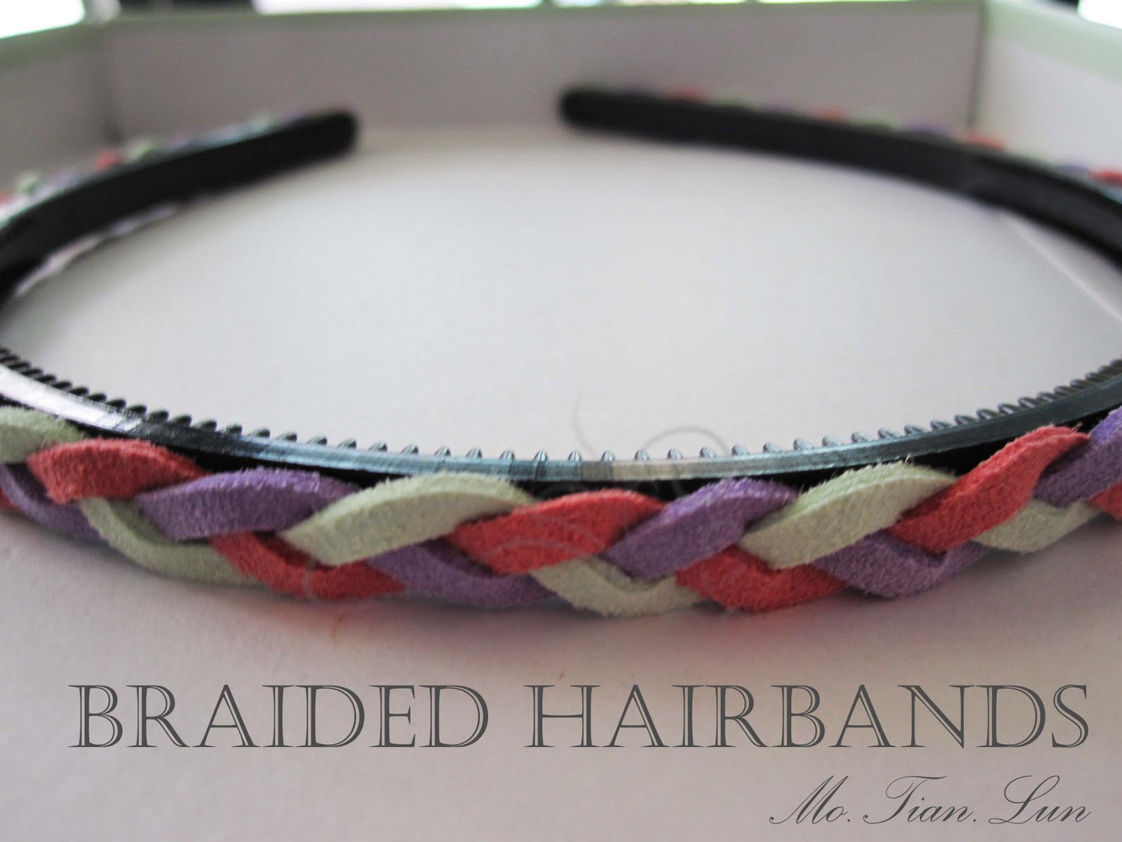 Braided Hairbands!