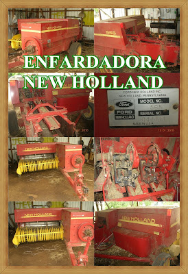 new holland enfardadora agricola