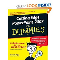 Powerpoint for For dummies template book cover