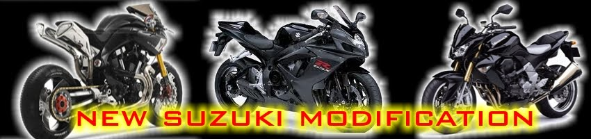 SUZUKI MOTORCYCLE MODIFICATION
