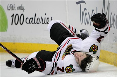 brent seabrook blackhawks concussion