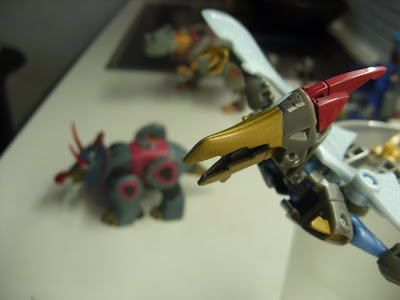Transformers Animated Dinobots Swoop Grimlock Snarl