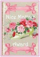 The Nice Matters Award