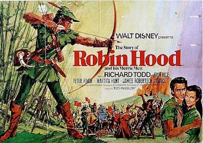 Walt Disney S Story Of Robin Hood British Story Of Robin Hood