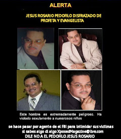 CUIDADO CON ESTE PEDOFILO JESUS ROSARIO