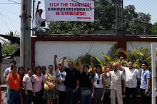 "SWEAP in DSWD Central Office: ""Stop the transfer! Retain GA in QC! No to privatization!"""