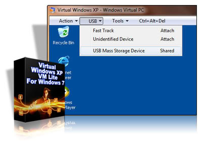 Virtual Windows XP VM Lite For Windows 7 Windows 7 tem muitas características novas, dos quais um recurso é o Windows XP Mode, que permite que você execute o Windows XP no Windows 7 no entanto, para usar modo Windows XP, você deve ter o 7 Professional ou Windows Ultimate e seu computador deve ter nível de hardware suporte a virtualização.