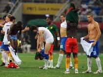 Cameroon 0-0 Italy