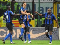 Inter 2-1 Catania