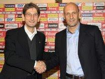 President Luigi Campedelli & Domenico Di Carlo