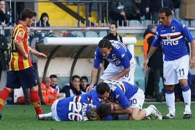 Sampdoria 3-2 Lecce
