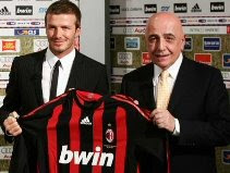 David Beckham & Adriano Galliani