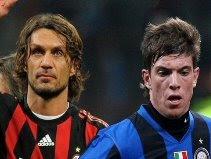 Paolo Maldini & Davide Santon