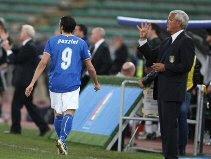 Giampaolo Pazzini & Marcello Lippi