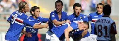Sampdoria 5-0 Reggina