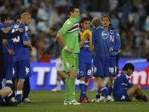Sampdoria disappointed