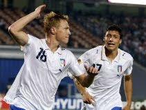 Italy 2-1 Trinidad & Tobago