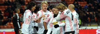 Milan 0-2 Palermo