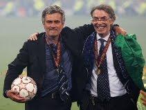 Jose Mourinho & Massimo Moratti