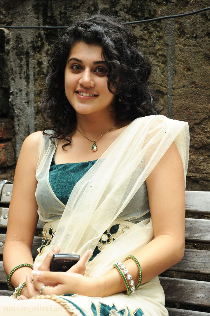 Tapsee Puri Looking Sexy in white