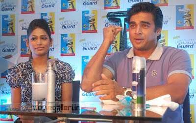 madhavan launches gillette guard stills new movie posters