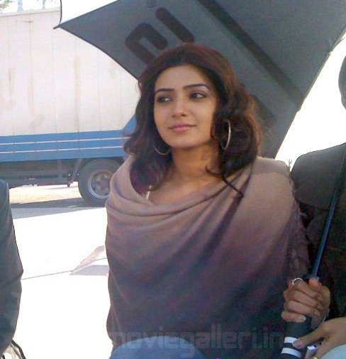 Samantha  Dookudu Movie On the Sets Stills