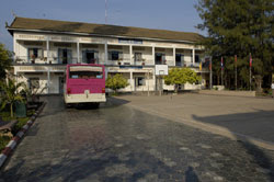 One of the buildings of Wat Bo Primary School