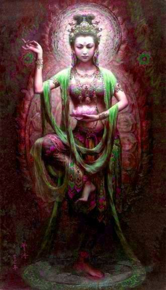 May the blessings of Kwan Yin and the Sacred Feminine be with us all!