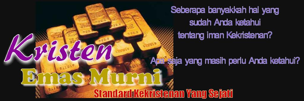 Blog Kristen Emas Murni