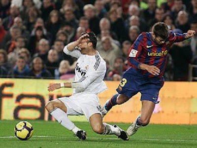 Cristiano se bloquea con Piqué
