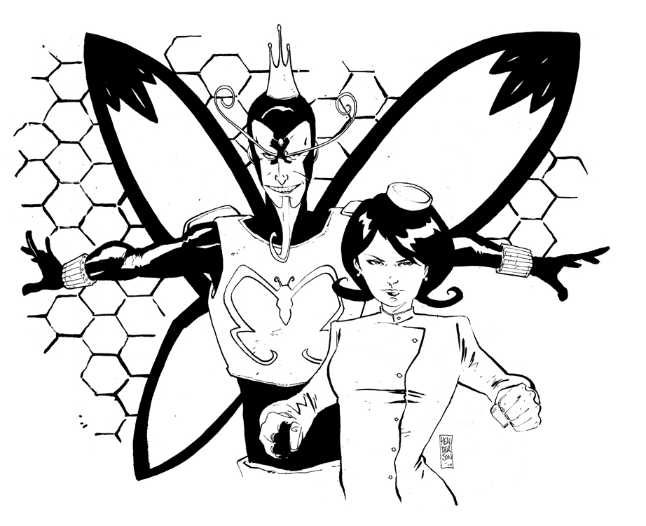 venture brothers coloring pages - photo#8