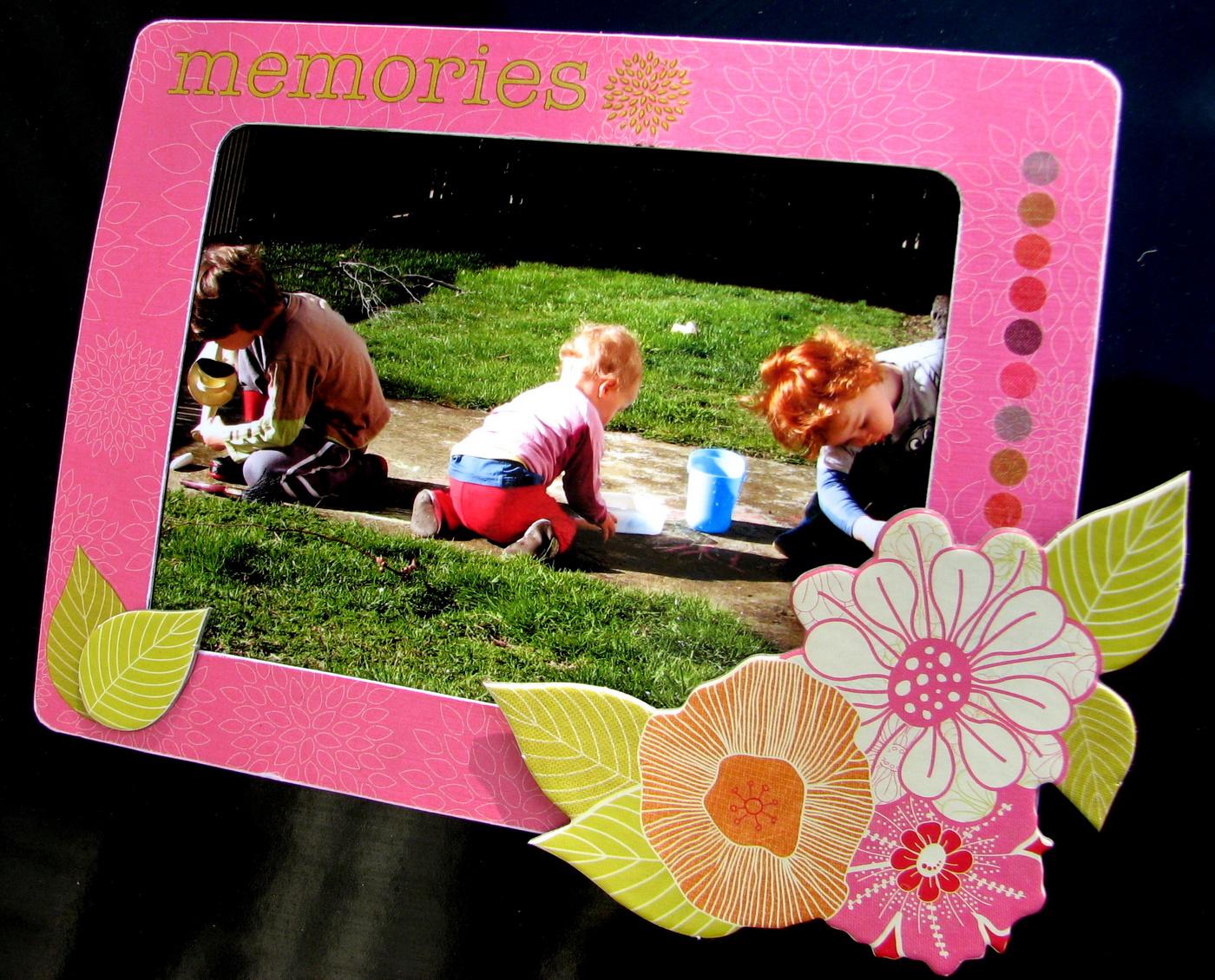 Artfull Crafts: Lowri - Kaisercraft Magnet frames - plus tutorial on