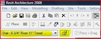 how to change level height in revit