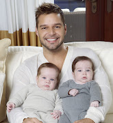 . it was another 'Romeo' that has won his cold heart. ricky martin gemelos