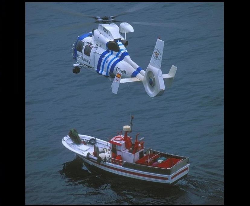 """Así éramos con el  Eurocopter AS 365 """"Dauphin"""""""