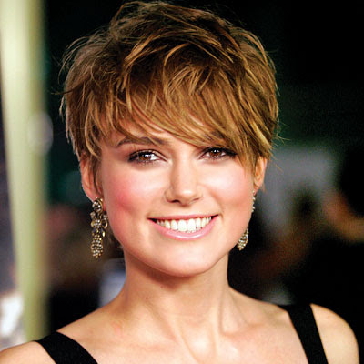Cute Pixie Haircut For Oval Face Shapes