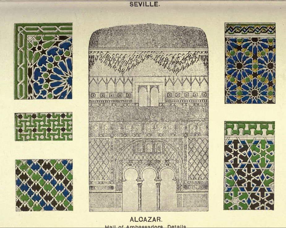Surface Fragments Islamic Pattern Designs