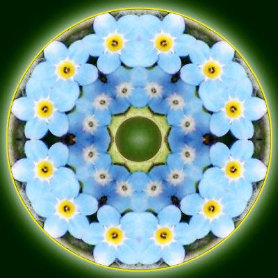 spring joy mandala