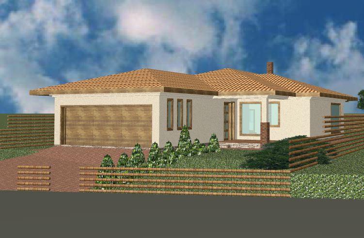 szép házak tervezése: családi ház 15.