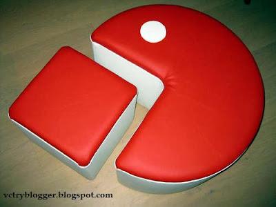 Como hacer un puff de Pacman
