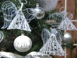 Angeles (Angelitos) para el Arbol de Navidad