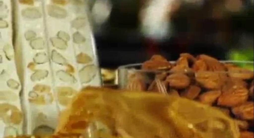 Como hacer turron casero (receta y video)