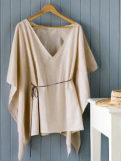 Top o vestido playero sin coser, ultrafacil, y express (rapidisimo)