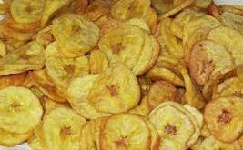 Chips de platano, mas receta de dip o salsa para acompañar