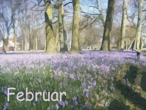 Der Garten Im Februar töpfern für den garten kalenderblatt februar