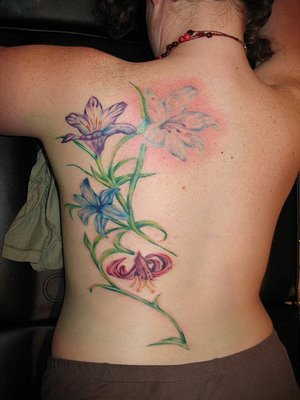 Flower Tattoos On Stomach. wallpaper Flower Tattoo