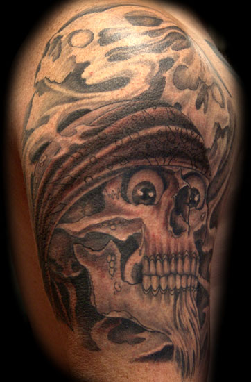Gangsta Tattoo Designs On Full Body Tattoos Picture