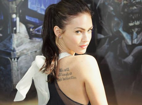 megan fox tattoo Gallery