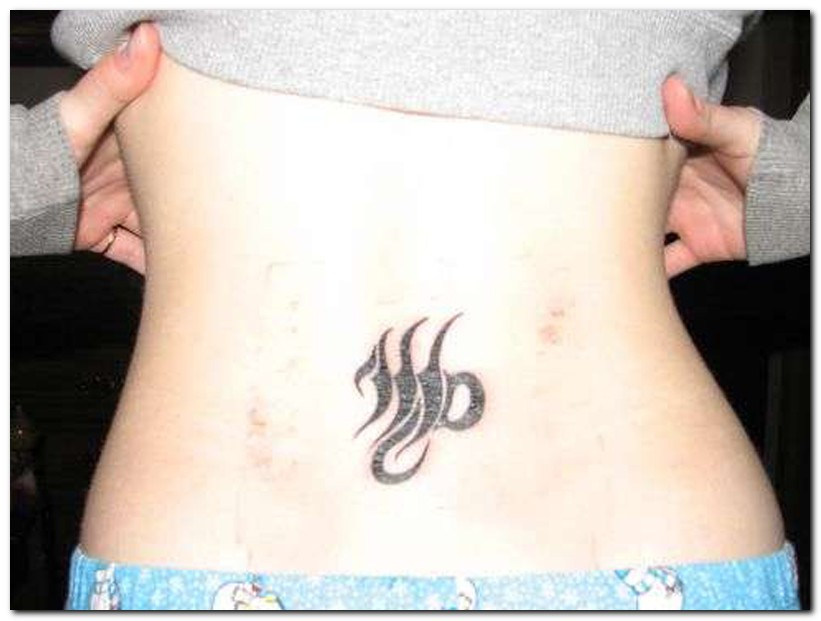 Virgo Tattoo Designs for Women